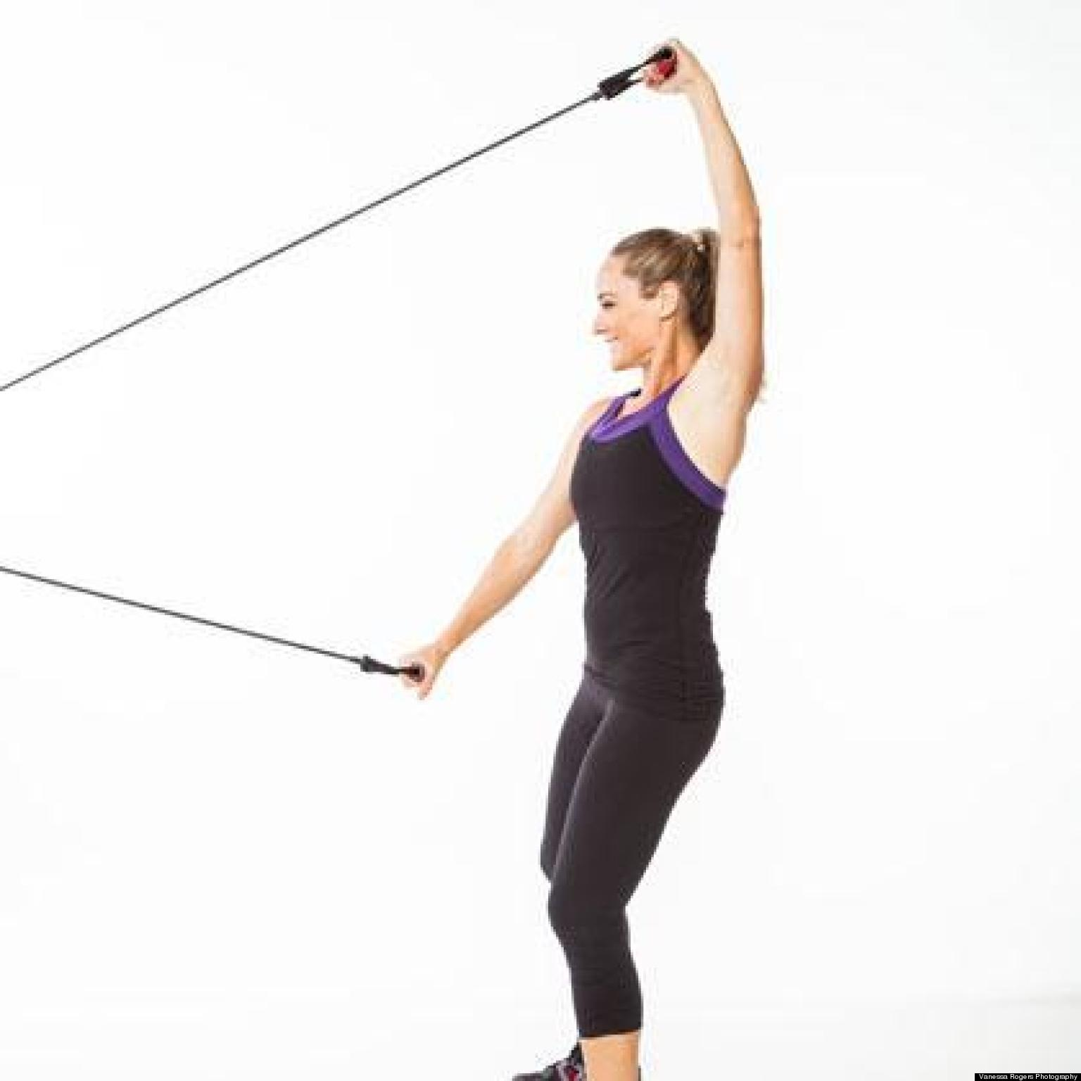 The Resistance Band Cardio Workout | HuffPost