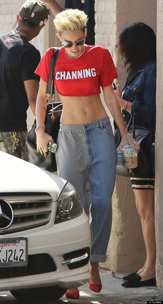 miley cyrus crop top