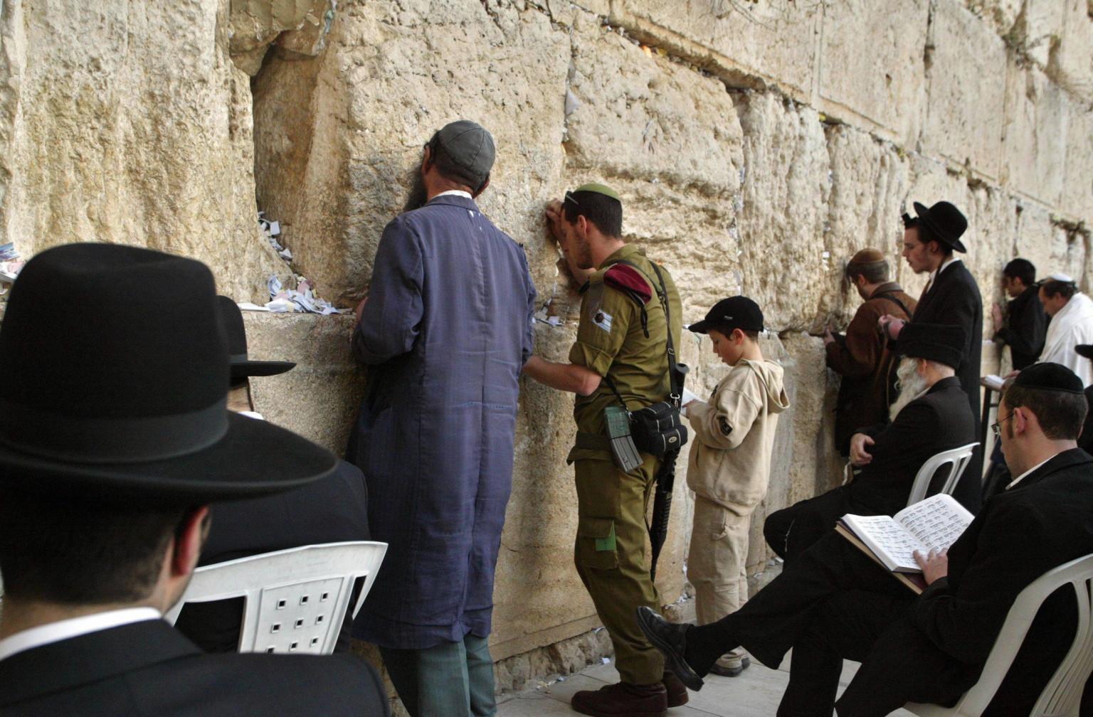 Muro del pianto in Israele agente di sicurezza uccide un