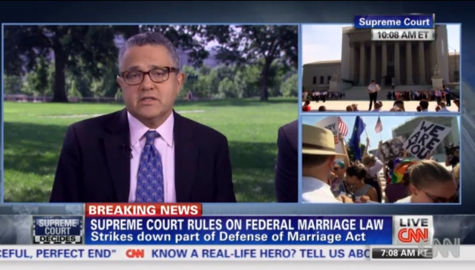 CNN Takes Its Time In Breaking Supreme Court News