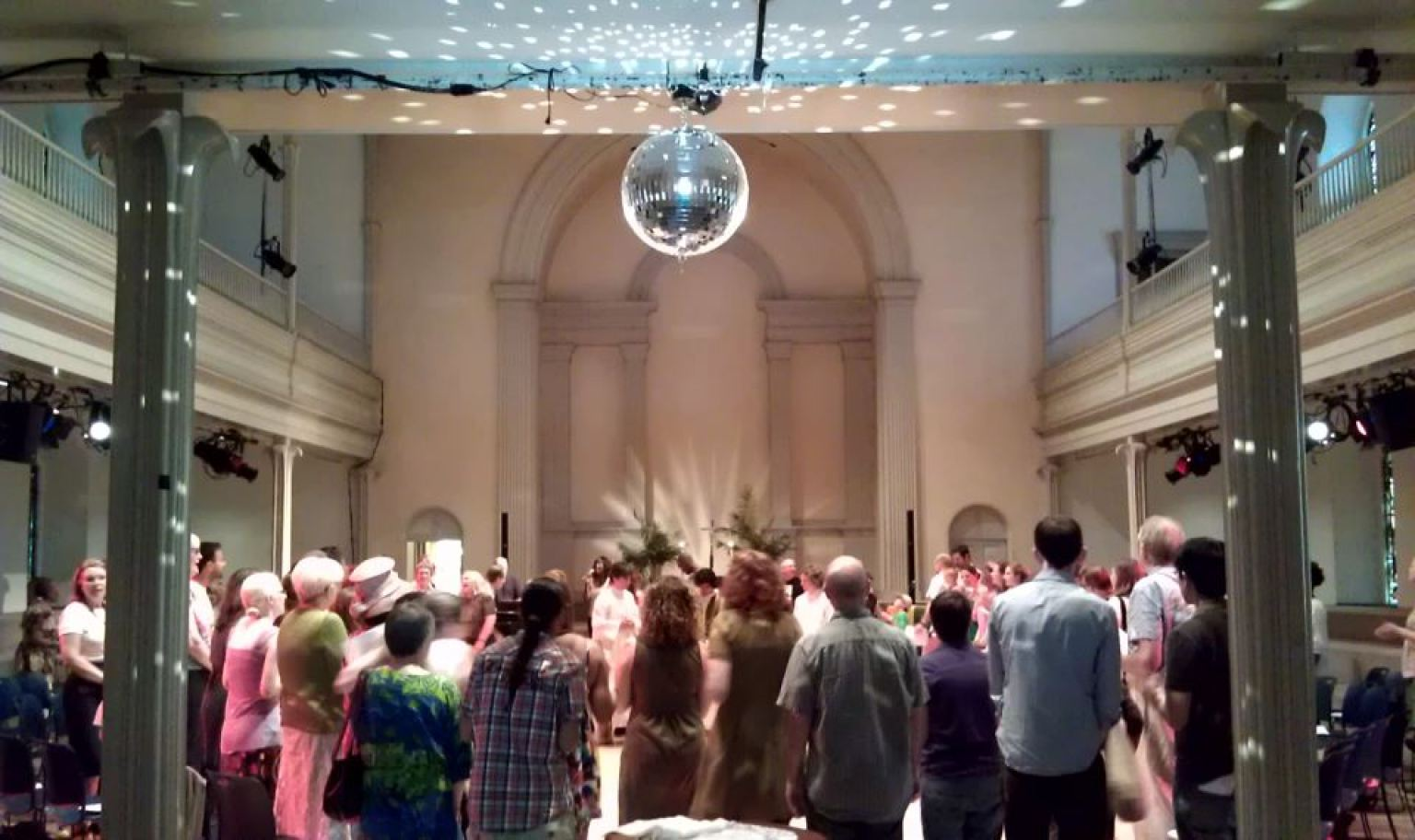 Gay Pride Disco Mass New York Citys St Marks Church In The Bowery Brings In The Divas For