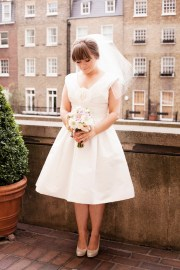 wedding dresses with 1950s flair