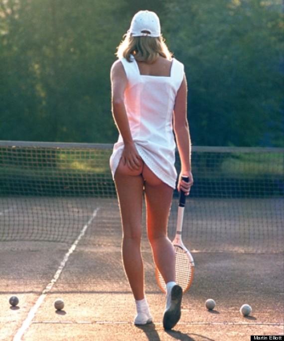 Imogen Thomas Recreates Tennis Girl Pose As She Gets In Wimbledon Spirit PICS