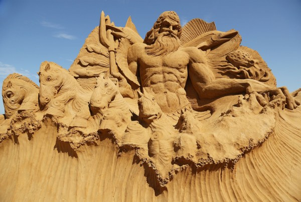 Incredible Sand Sculputures 10 Beach Creations