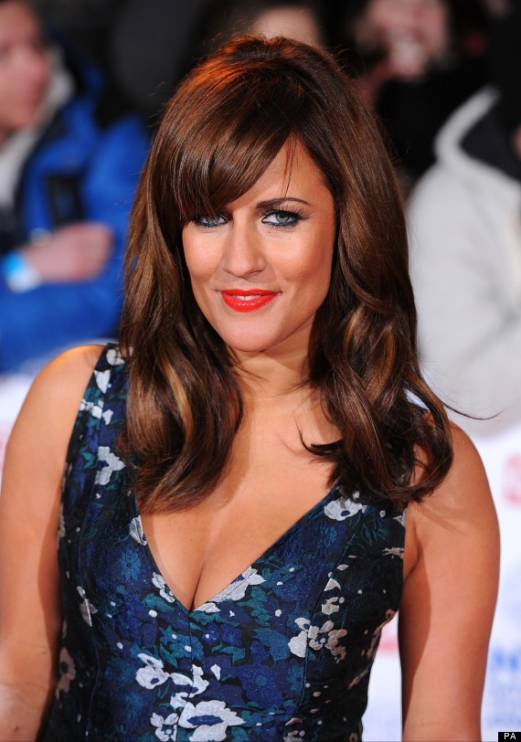 Caroline Flack I Only Had One Boob Growing Up