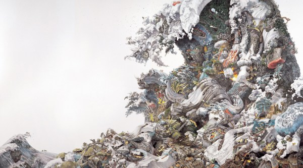 Manabu Ikeda Japanese Artist Creates Massive Drawings