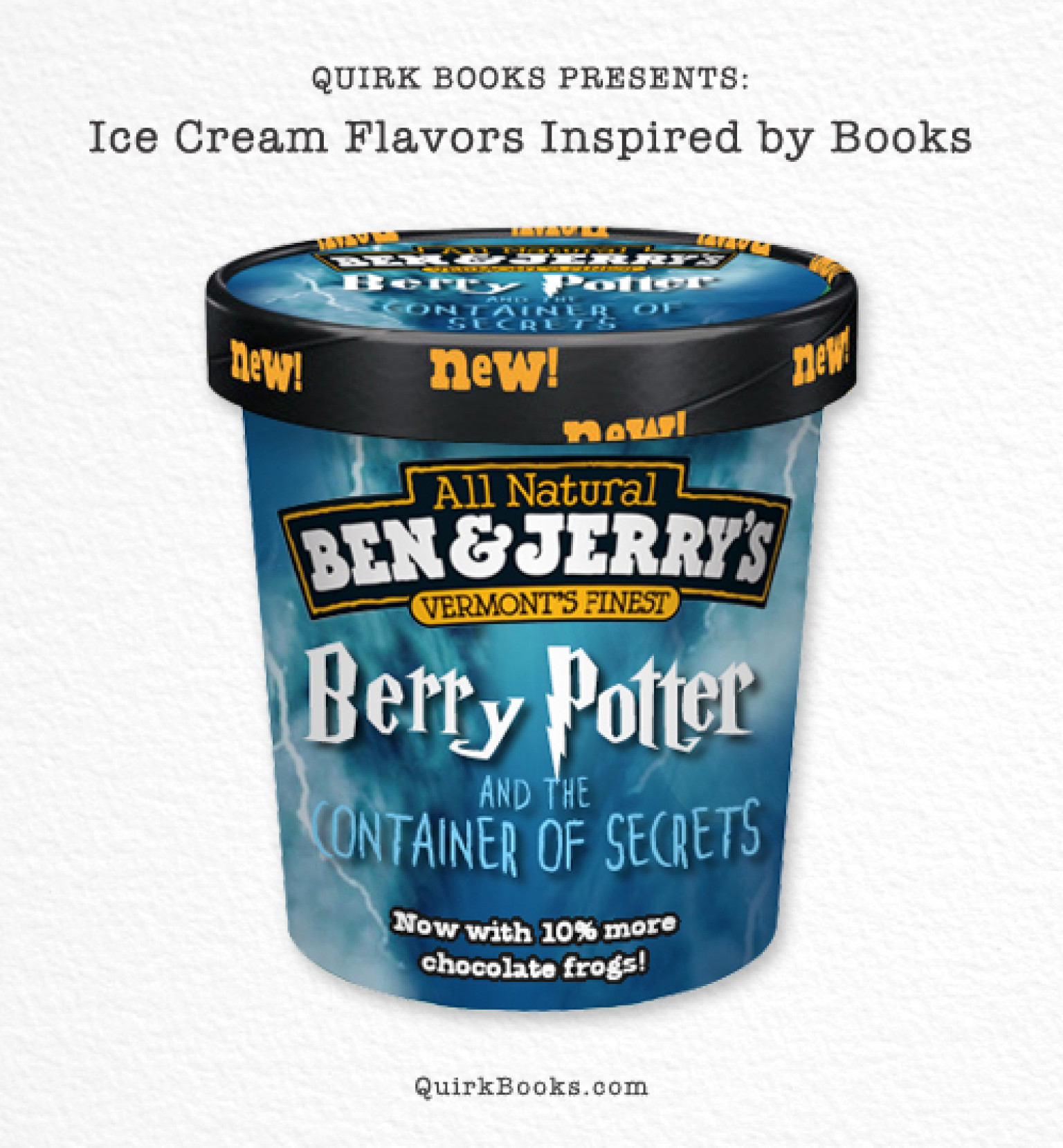 Its milk guys i promise ally lyons - Quirk Books Has Put Together A Pretend Collection Of Ben Jerry S Ice Cream Flavors Based On Popular Books And It S Hilarious