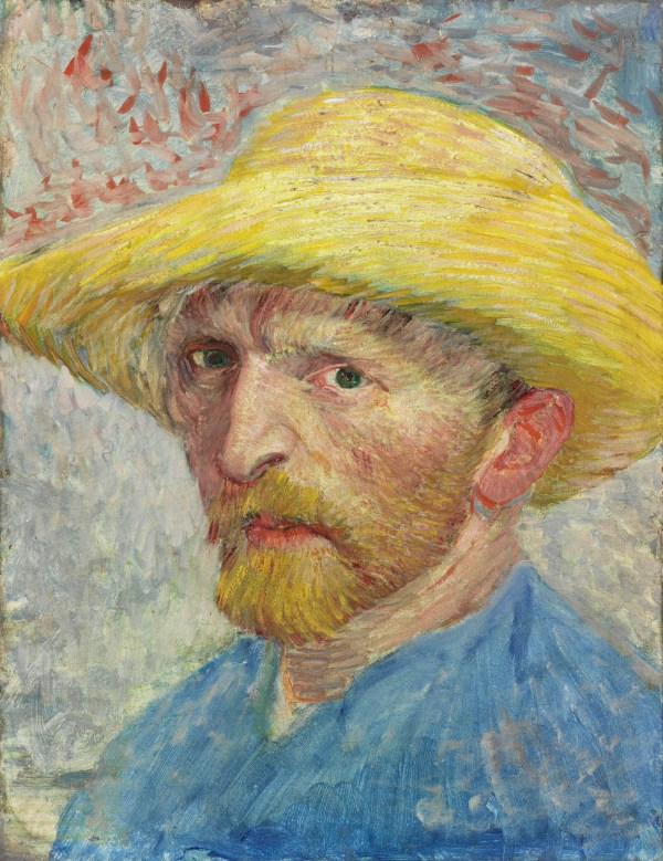 Self Portrait Vincent Van Gogh Painting