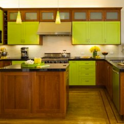 Green Kitchen Cabinet Doors Delta Savile Stainless 1-handle Pull-down Faucet 8 Good Reasons Why You Should Paint Everything Lime