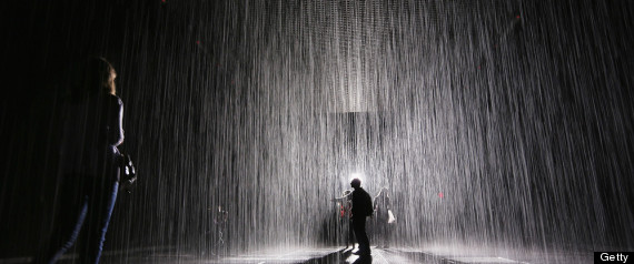 Alone Girl Hd Wallpaper With Quotes Rain Room S Last Week At Moma Makes Kids Cry Adults Bond