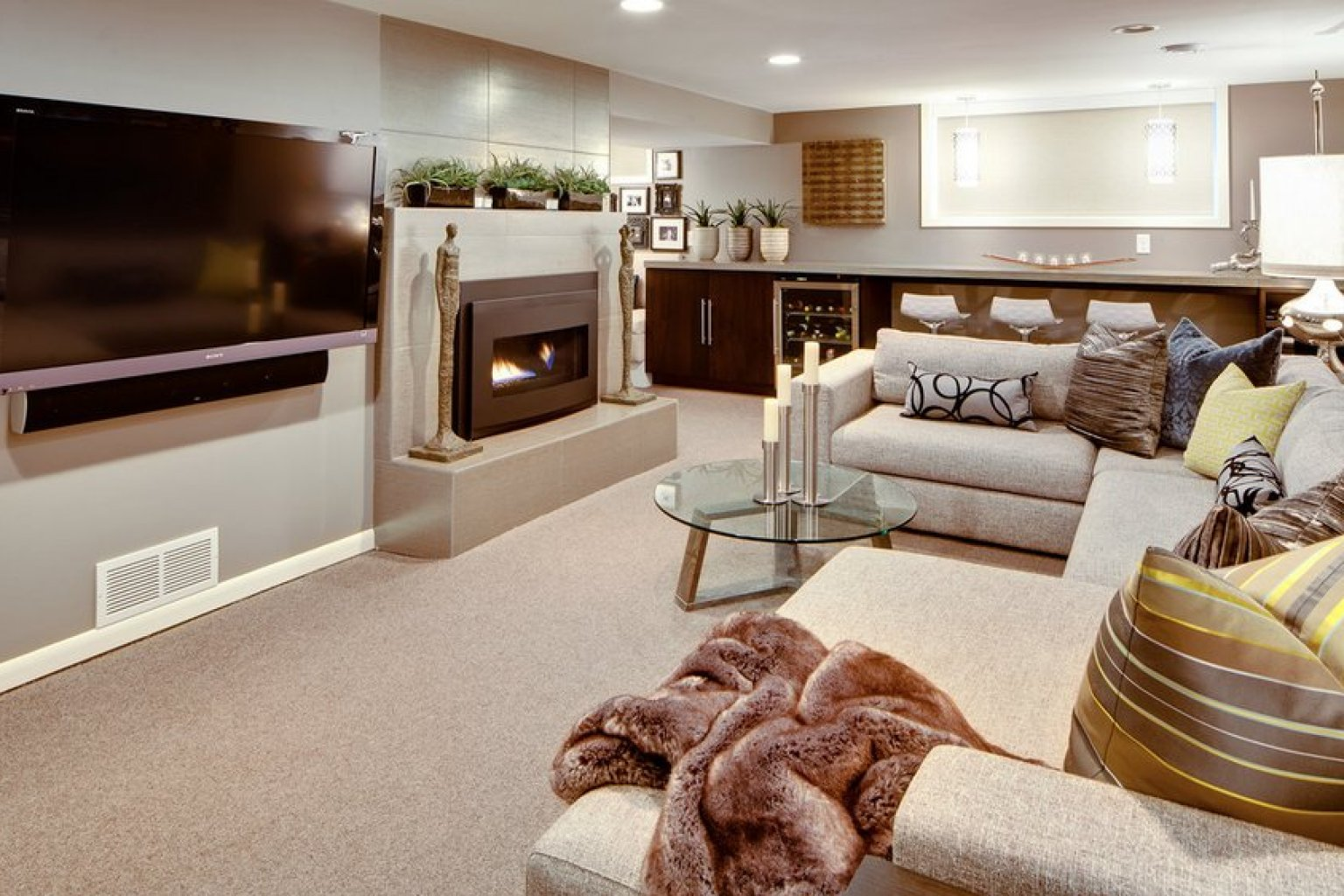 8 Awesome Basements We Wouldnt Mind Hang Out In All