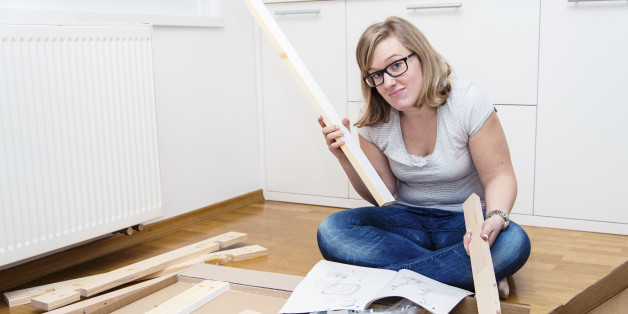 The 7 Emotional Stages Of Ikea Furniture Assembly Huffpost