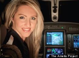 s AMELIA large El vuelo fatal de Amelia Earhart será recreado por... ¿Amelia Earhart? [EEUU]