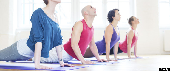 yoga desk job