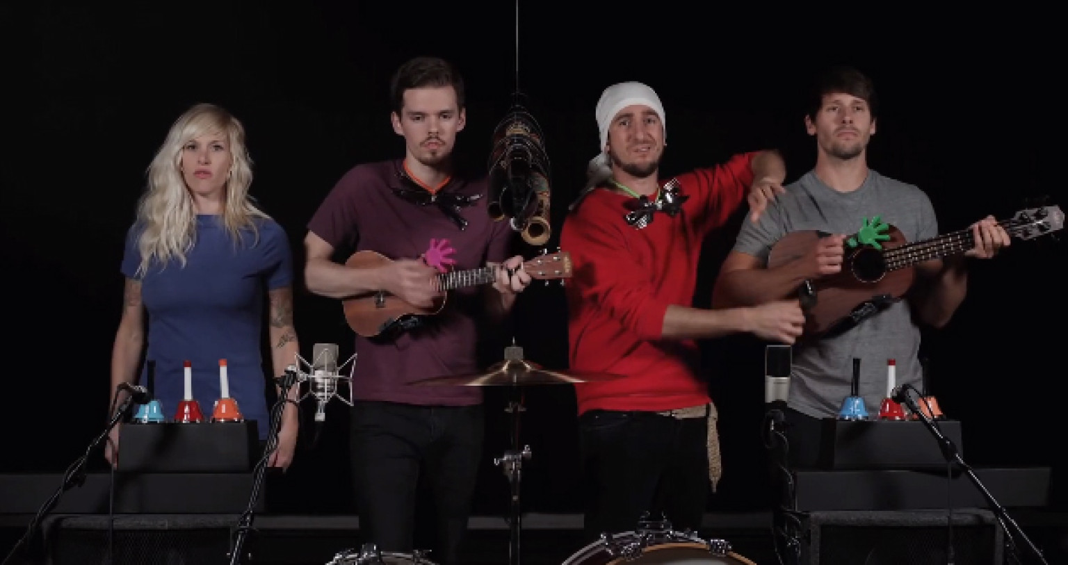 Walk Off The Earth Covers Royals Plays Musical Chairs