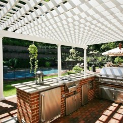 Outside Kitchen Designs Booth Seating 14 Incredible Outdoor Kitchens That Go Way Beyond Grills