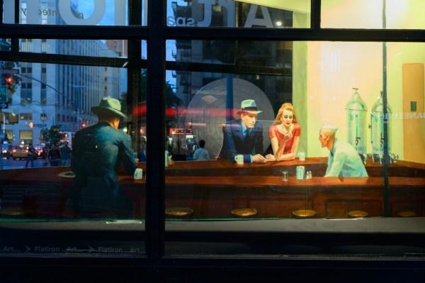 Nighthawk Painting Edward Hopper