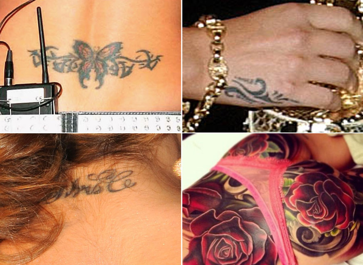 Cheryl Cole Tattoo A History Of The Girls Aloud Singers