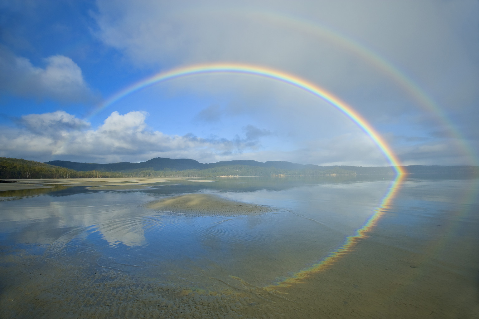 What is a rainbow in nature