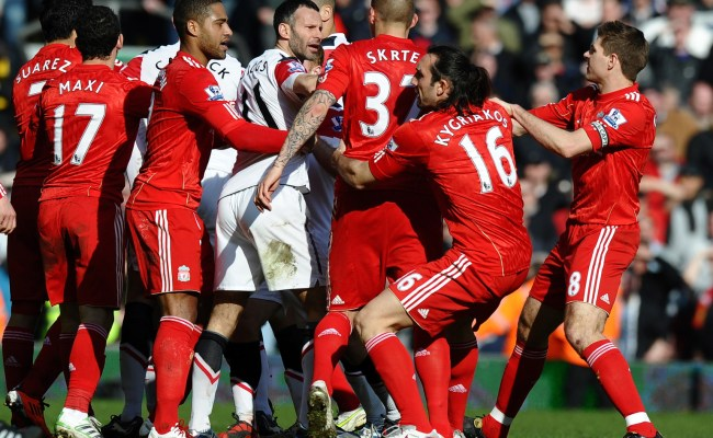 Liverpool Vs Manchester United Rivalry In Pictures