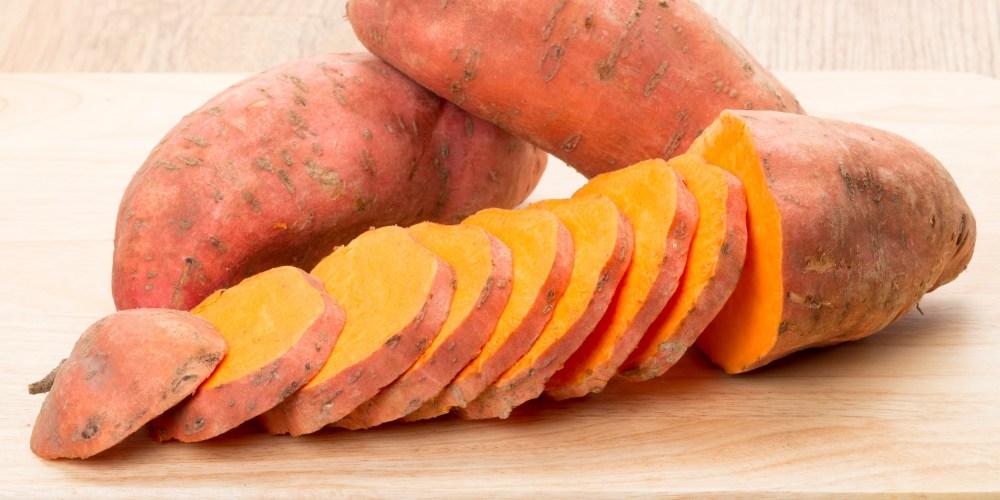Image result for Orange-fleshed sweet potatO