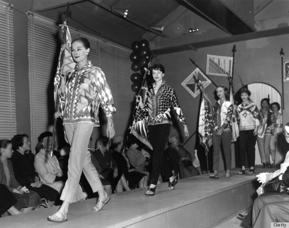 Ways fashion shows were different in the 1950s huffington post