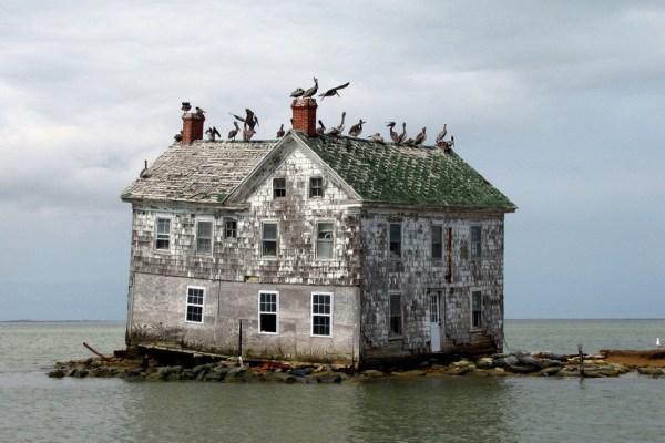 Holland Island Home In Maryland39s Chesapeake Bay