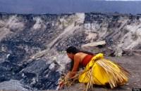 Resultado de imagen de sacrifice gods hawaii volcano