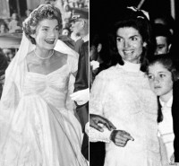 Jackie Kennedy's Wedding Dresses Still Make Us Swoon (Both ...