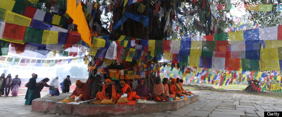 buddha birthplace nepal india