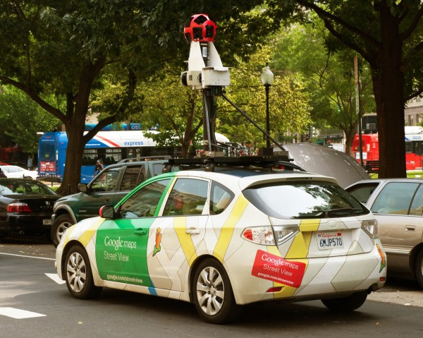 Google Street View Car Crashes In Indonesia Driver
