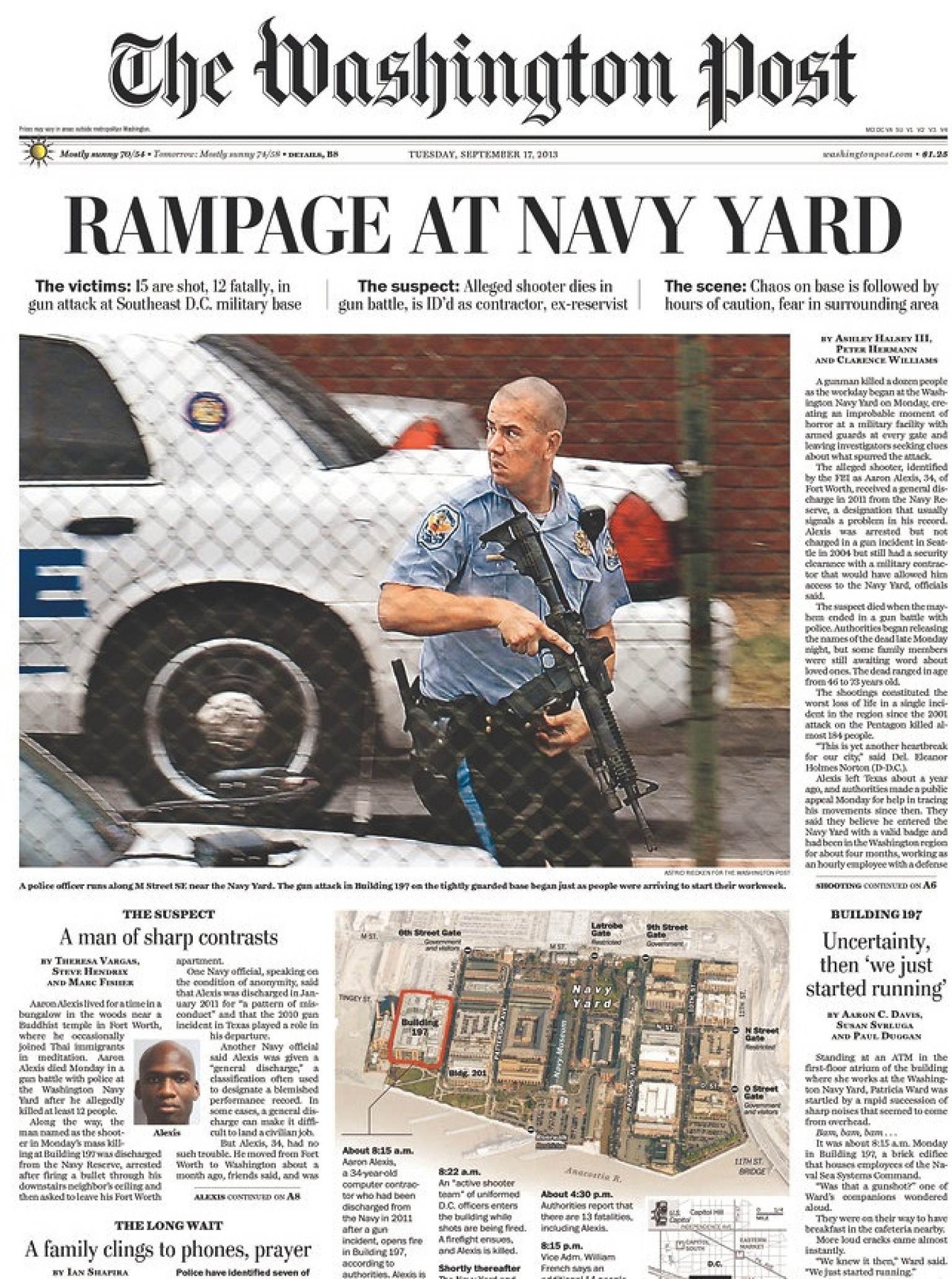 Washington Post Editor Navy Yard Shooting Story Was