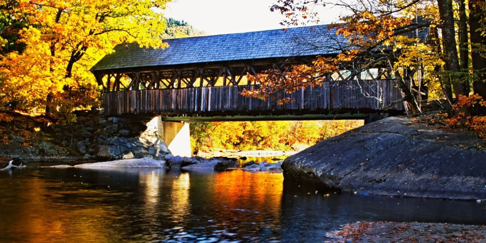 Fall Wallpaper And Screensavers For Free America S Most Beautiful Covered Bridges Travel Leisure