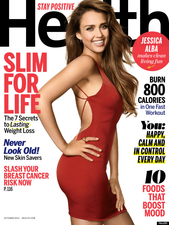 Jessica Alba Talks Body Image Issues Wearing A Corset With Health Magazine  HuffPost