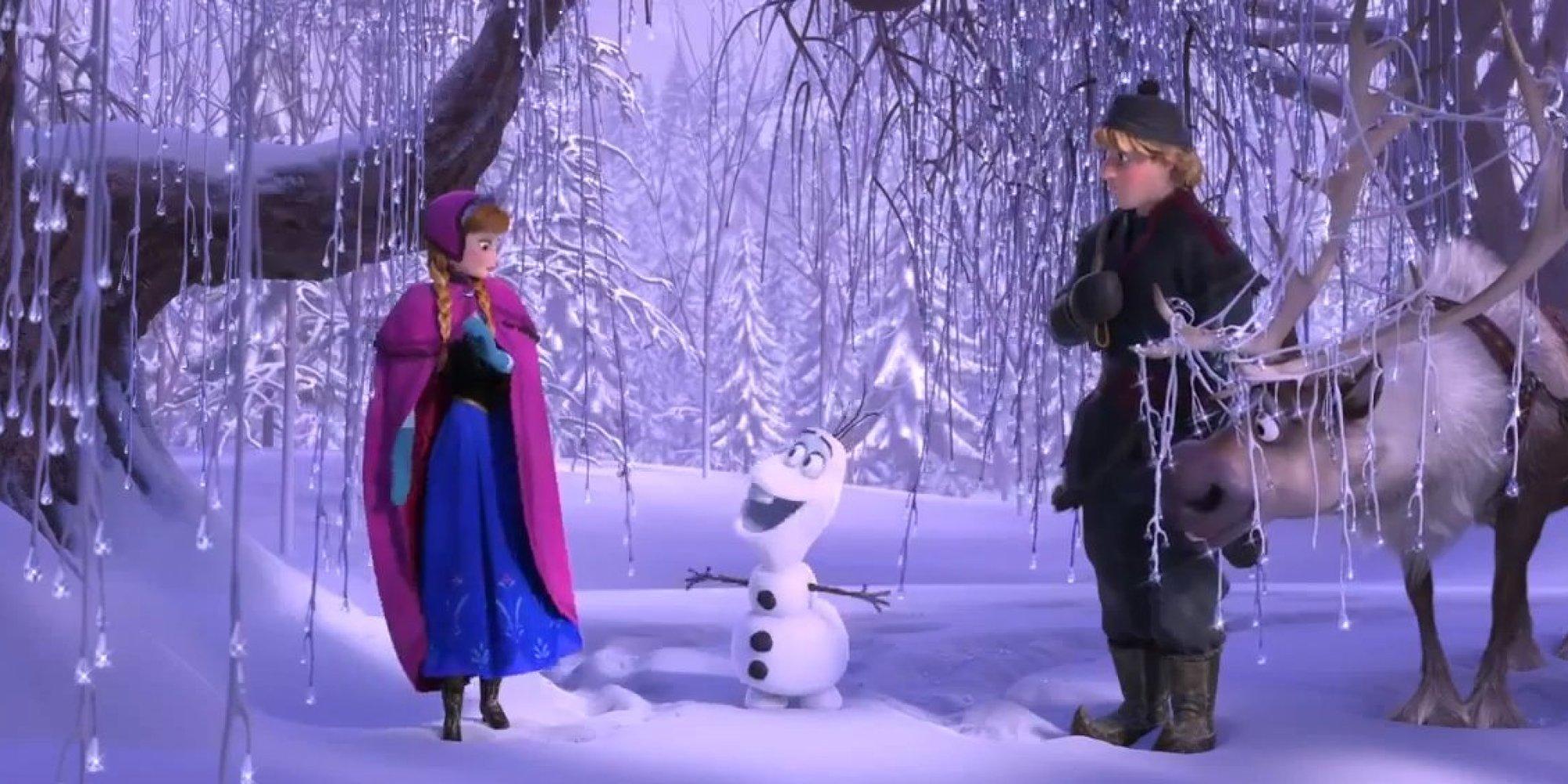 Frozen Snowman Olaf Sings In Summer For Disney Movie