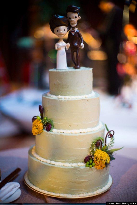 Now You Can Buy A Slice Of Chef Stephanie Izards AmazingSounding CheezIt Wedding Cake  HuffPost