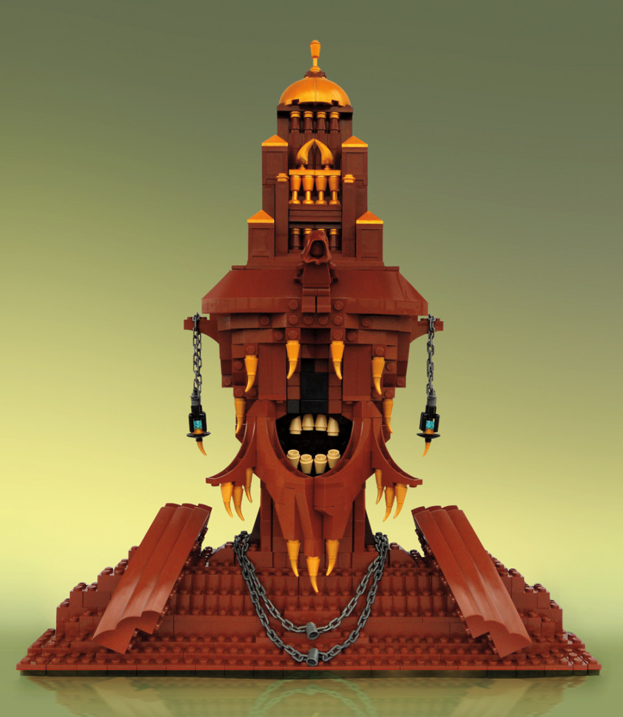 7 Of Control Lego Sculptures Leave