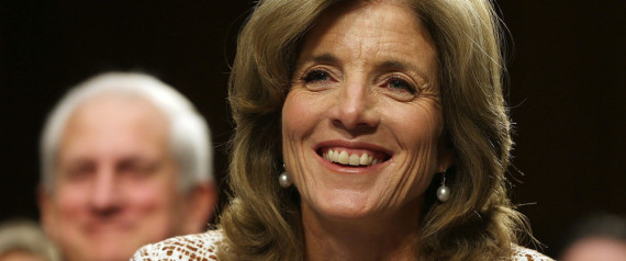 caroline kennedy confirmed