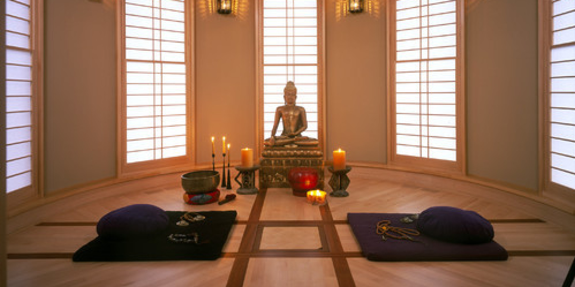 If you are planning a bedroom, make sure you think through the placement of the furniture and décor. 7 Spaces That Would Make Great Meditation Rooms (PHOTOS