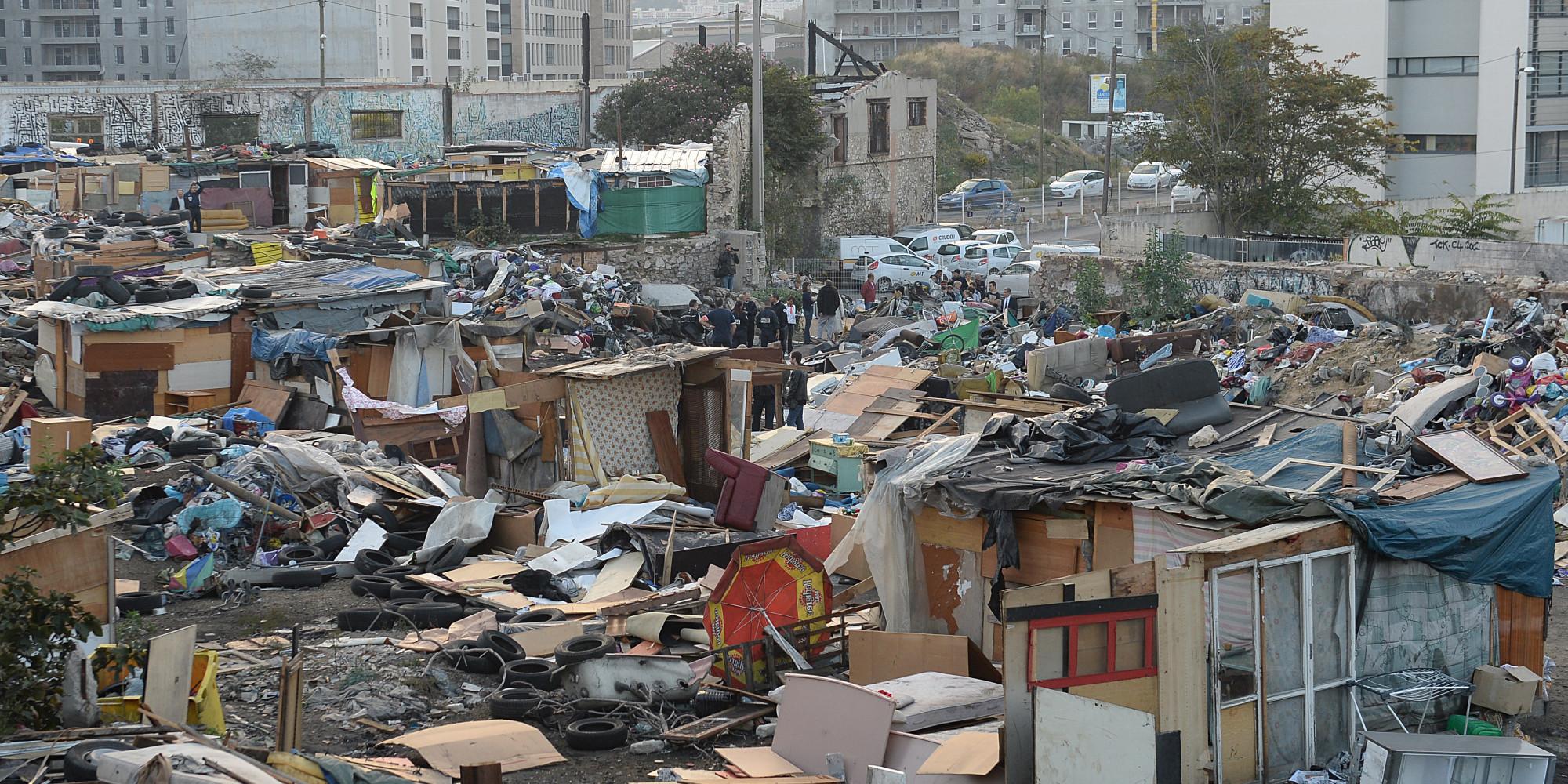 Marseille Le Plus Grand Campement De Roms De La Ville