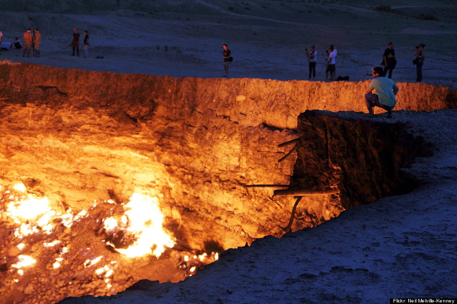door to hell turkmenistan