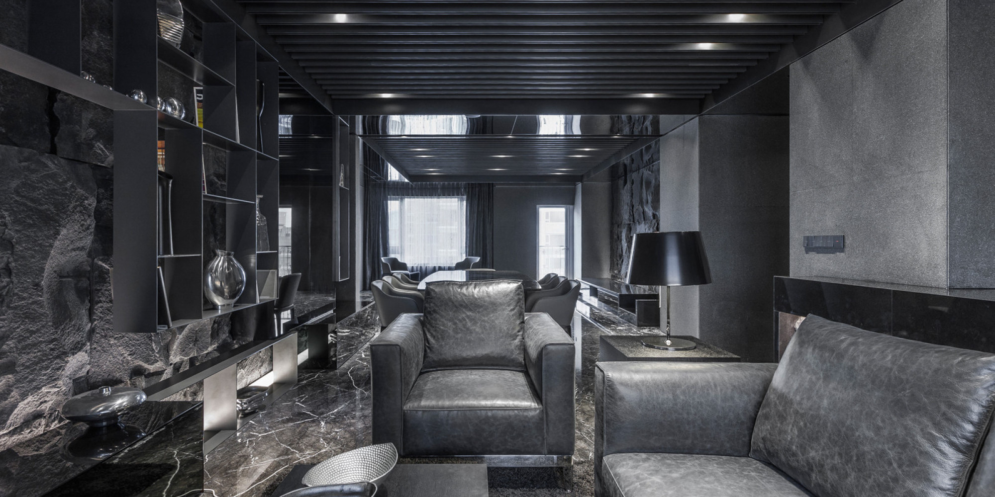 AllBlack Interior Color Palette Is Surprisingly Sophisticated PHOTOS