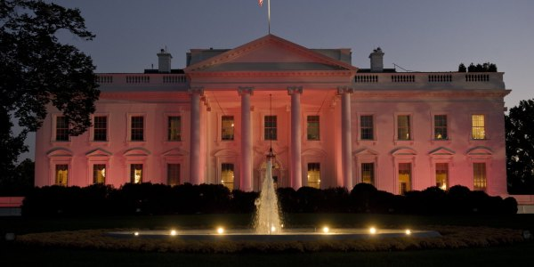 White House Pink Breast Cancer Awareness Month