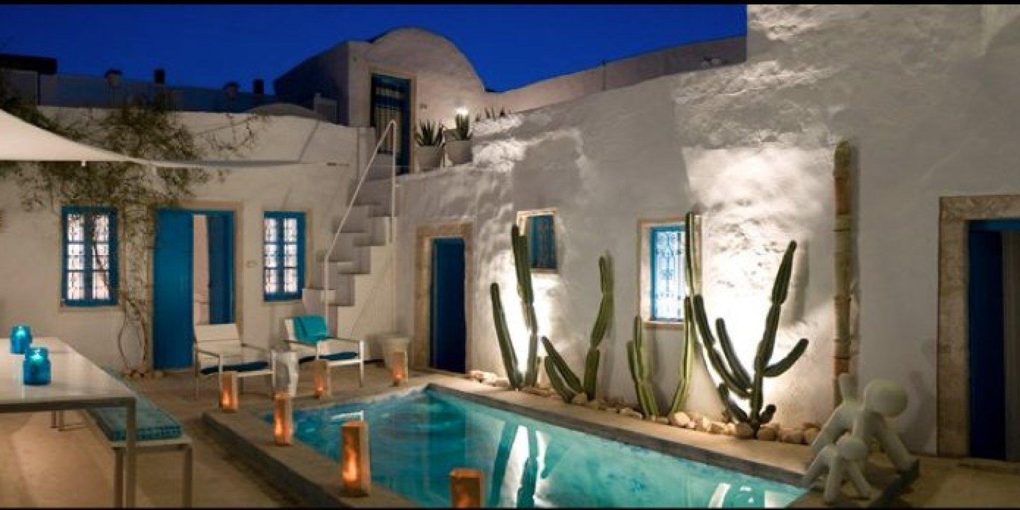 Exemple Facon De Entre Villa En Tunisie Image Sur Le Design Maison