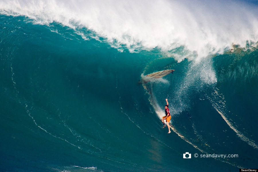 Huge Surf On North Shore Of Oahu Shows You Dont Have To