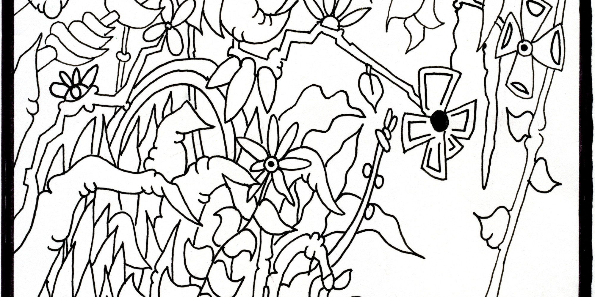 All Your Favorite Contemporary Artists, In One Coloring Book