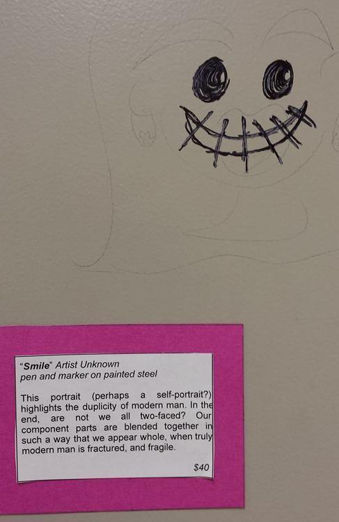 Teachers Turn Bathroom Vandalism Into Masterpieces PHOTOS