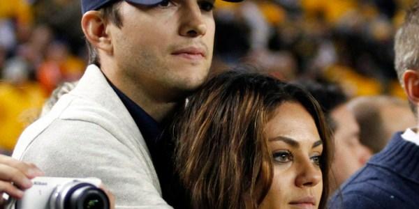 Ashton Kutcher Mila Kunis Engagement Rumors Heat Demi Moore Divorce Reports Huffpost