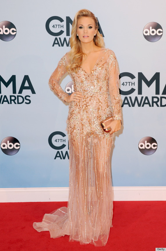Carrie Underwood Wears More Outfits In One Night Than We