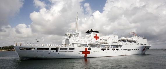 china hospital ship